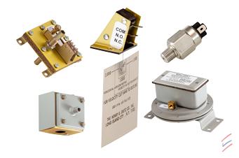 Fotocollage der Druckschalter Dietz Serie - Designflex - HJK Sensoren & Systeme