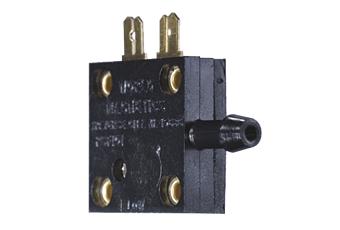 Fotocollage der Druckschalter PSF 101 Serie - Designflex - HJK Sensoren & Systeme