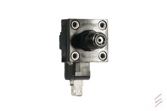 Fotocollage der Druckschalter PSF 103 Serie - Designflex - HJK Sensoren & Systeme
