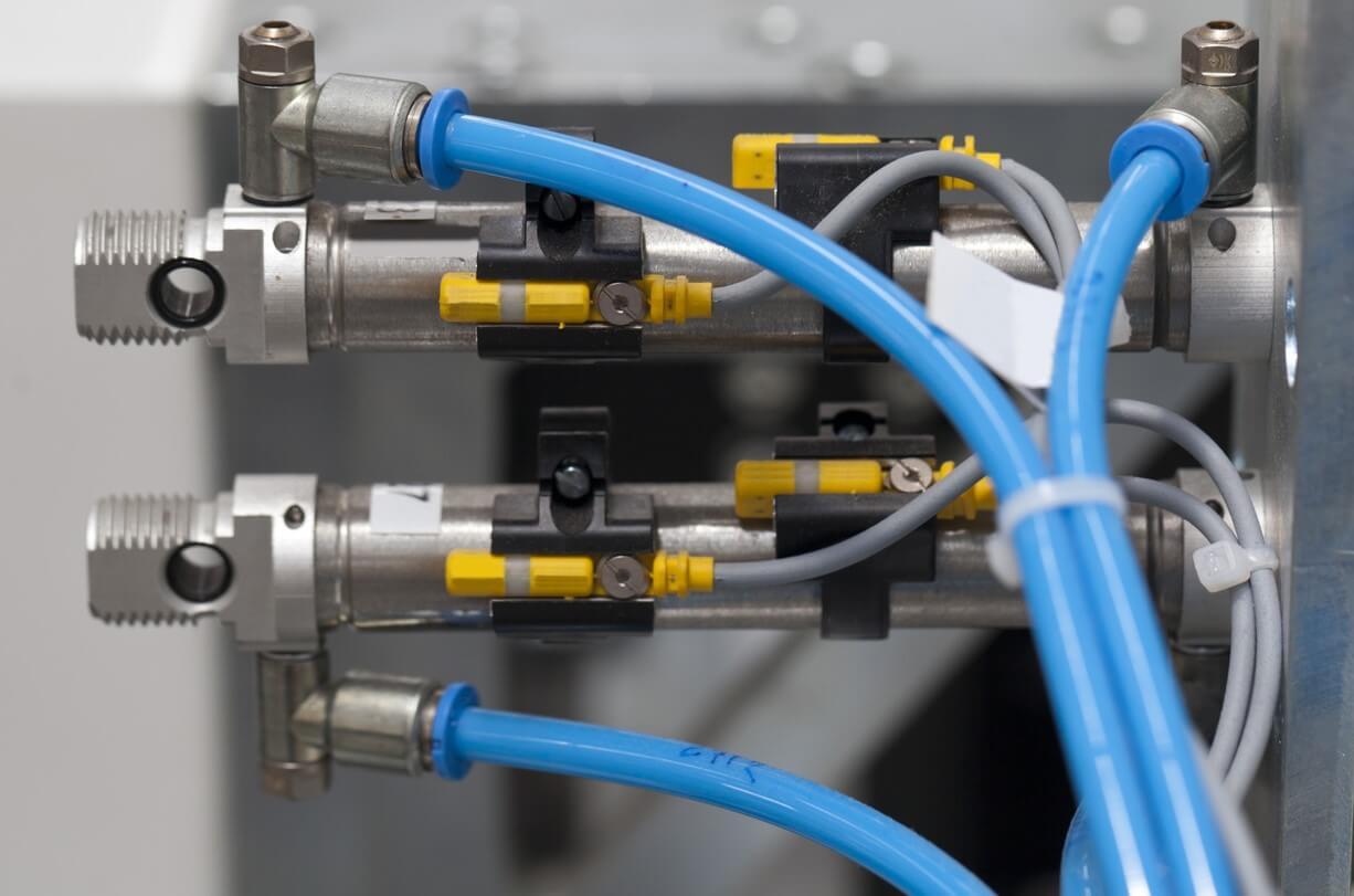 Technische Schalter verknüpft - Designflex